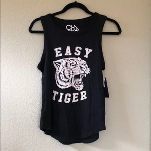 Chaser Tops - Chaser Easy Tiger Tank